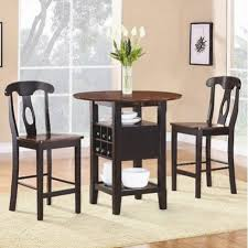 Tall Kitchen Table With Two Chairs Kitchen Tables Sets