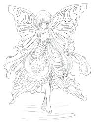 Fairy Coloring Sheets Image 0 Fairy Coloring Pages Pdf