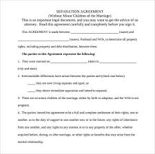 Agreement Template – 20+ Free Word, PDF Documents Download! | Free ... Marriage Separation Agreement Template PDF Download