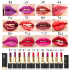 korean makeup brands huamianli brand 12 color matte lipstick korean style moisturizing beauty makeup