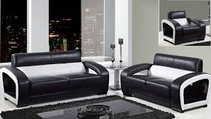 Living Room Modern Furniture Living Room Contemporary Leather Living Room Chairs With Black