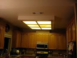 Kitchen Fluorescent Light Fixture Astounding Replacing Kitchen Fluorescent Light Fixtures Kitchen