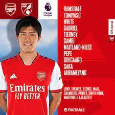 Arsenal - 🇯🇵 Takehiro Tomiyasu makes ...