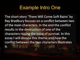 there will come soft rains ppt 39 example intro one the short story there will come soft rains