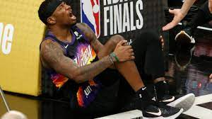 Suns' Torrey Craig exits Game 2 with ...