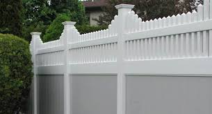 Contemporary Vinyl Privacy Fence Ideas Cost Intended Design Inspiration