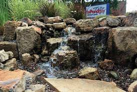 why build a water feature learning