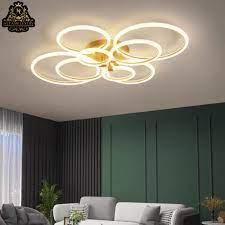Đèn LED tròn trần nhà 6B - Tranh Đèn Trang Trí