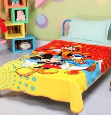 21 best kids blanket quilts dohar shawls- oyesabhi.com images on ... & Buy Disney mickey mouse and friends signature Single Bed Blanket Quilt  Throw Online at Best Prices Adamdwight.com