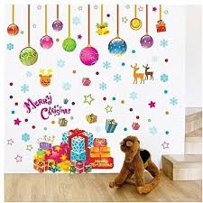 universal merry vinyl wall decals home decor window glass stickers gift kids room wall sticker