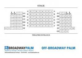 Off Broadway Palm Theatre Seating Broadway Palm Dinner Theatre