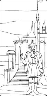 Bilder zum ausmalen, jedes ausmalbild und kostenlose malvorlagen gratis online downloaden. Mann Vor Treppe Ausmalbild Malvorlage Phantasie