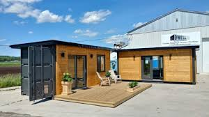 Modern 160 Square Foot Tiny House Made Out of Shipping Containers