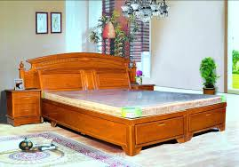 bedroom designs india simple bed design unique oak wood material storage wooden bed designs with chandelier