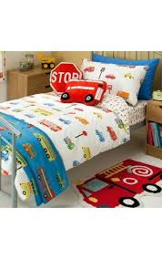 childrens bedding sets asda toddler home transport duvet set single decorating ideas improvement alluring transportation room boys de