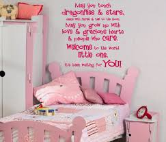 wall decals for girl room little girl rooms decor wall decor for little girl room pink