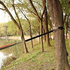 Tree Swing Hukoer Hammock Tree Straps Tree Swing Garden Hanging Rope With