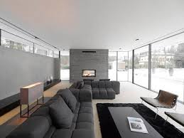 Contemporary Minimalist Sofa Furniture Living Room Decor Design