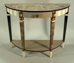 Table Demi Lune Pliante Ancienne Extensible Primocannabisco