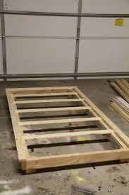 hmycul popular twin xl platform bed frame