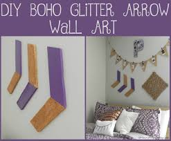diy glitter wall decor easy art ideas canvas