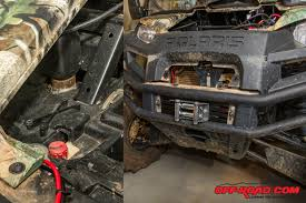 how to utv winch installation off road com after remounting the ranger s bumper and carefully weaving the wiring up into the electrical bay of
