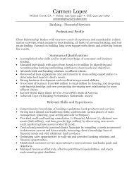 Sample Resume My Career Personal Banker Xpertresumes Com