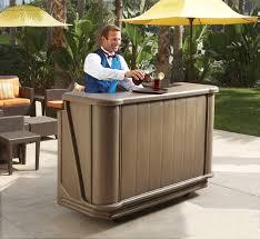 Outdoor Bar Portable Outdoor Bar Ideas Home Design And Decor