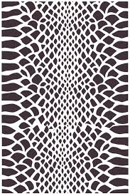 Snake Skin Pattern Extraordinary Snake Skin Vinyl Stencil Overspray Collection