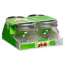 ball 4 oz mason jars. ball® 1 pint (16 oz.) glass canning jars - set of 4 ball oz mason