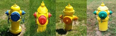 Fire Hydrant Colors City Of Owosso Owosso Michigan