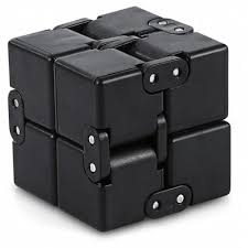 infinity cube 3. infinity cube fidget style edc fidgeting stress relieve toy 3 c