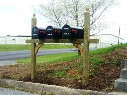 mailbox post design ideas. Mail Box Post Design Mailbox Ideas Image Of  Multiple Two . O