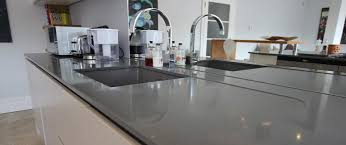 grey quartz kitchen worktop