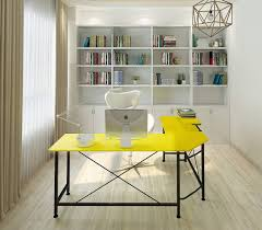 Image Wall Well Done Stuff 36 Yellow Office Decor Ideas To Brighten Up Your Workspace