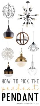 Choosing pendant lighting for your kitchen can be a daunting tasks. With so  many styles
