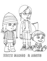 44 Best Coloring Pages Despicable Me Images In 2016 Coloring