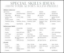 Resume Profile Samples Resume Skills Sample Resume Profile Samples