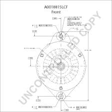 A0018815lcf front dim drawing