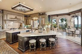 Luxury Kitchen Furniture Kitchen Ornate Deep Brown Kitchen Island For Victorian Kitchen
