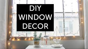 Window Decoration Diy Tumblr Room Decor Winter Window Decoration Youtube