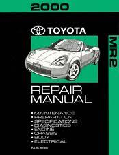 toyota mr2 repair manual 2000 toyota mr 2 shop service repair manual book engine drivetrain oem