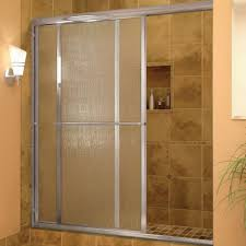 framed glass shower door
