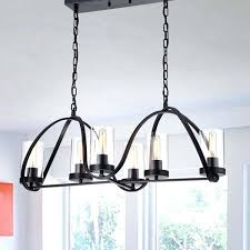 iron rectangular chandelier antique black iron 6 light chandelier with rectangular base and clear glass cylinder iron rectangular chandelier