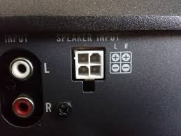 hi low adapter speaker line level converter help mustangforums com i was thinking for the other wires battery ground power ill splice them into the power sources needed
