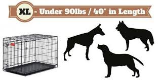 Dog Crate Size Chart Best Dog Crates Type To Get Complete Guide Of Lab Cages 2019