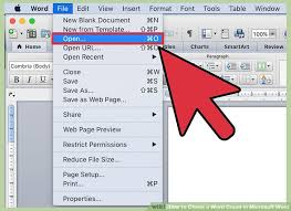 ways to check a word count in microsoft word wikihow image titled check a word count in microsoft word step 2