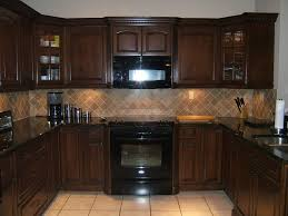 corner white wooden mixed cherry wood kitchen island dark kitchen cabinets wall color stainless steel cabinet