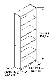 standard bookshelf depth. Phenomenal Standard Bookshelf Height Depth Full Size Of Dimension Library In Conjunction With Also Between Shelf Metric And Cabinet