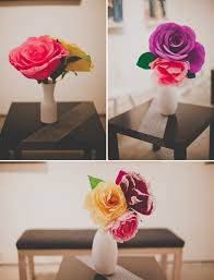 Wedding Paper Flower Centerpieces Handmade Paper Flower Wedding Nata Jess Green Wedding Shoes